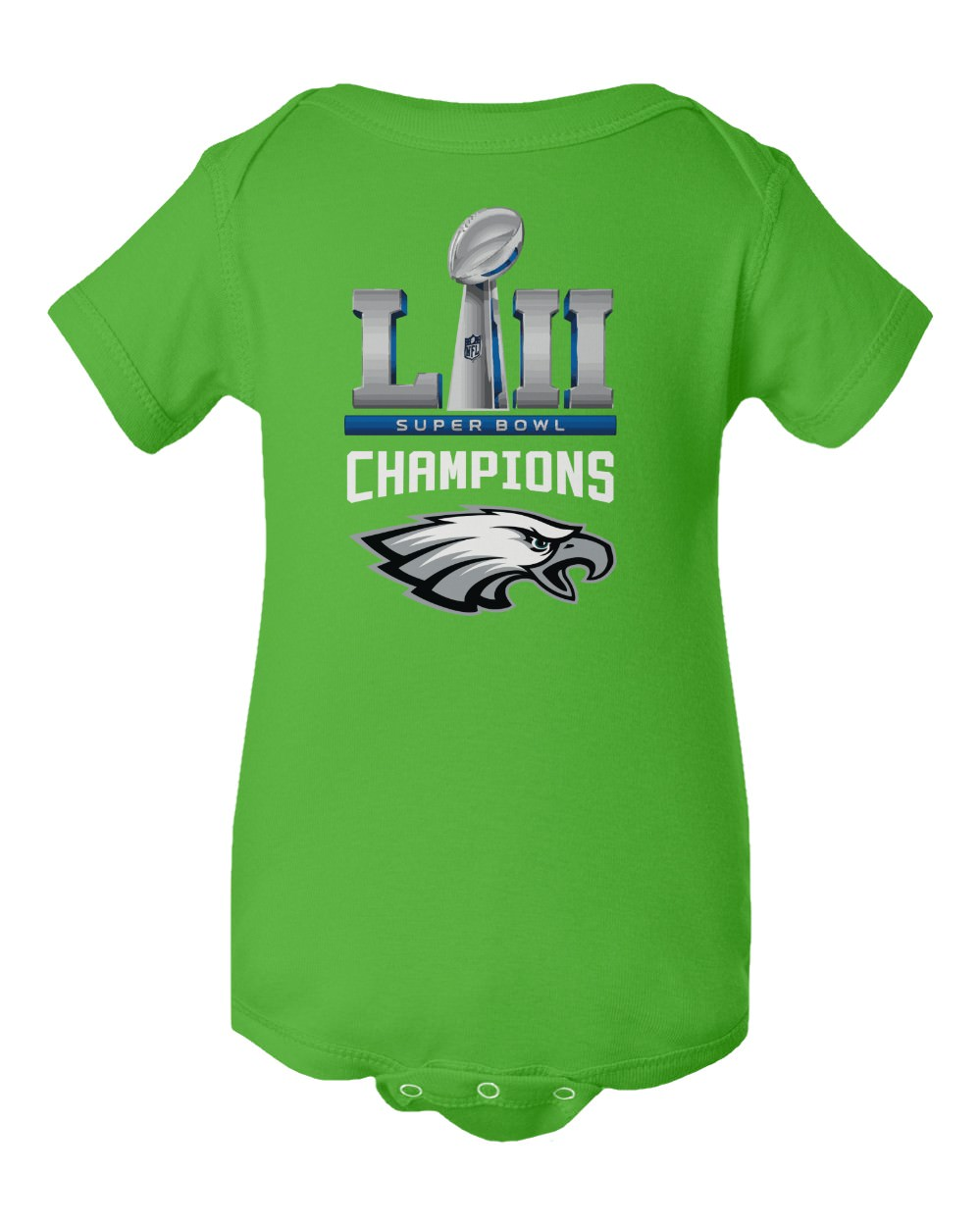 Philadelphia Eagles Onesie Bodysuit Shirt  Super Bowl 52 Champions