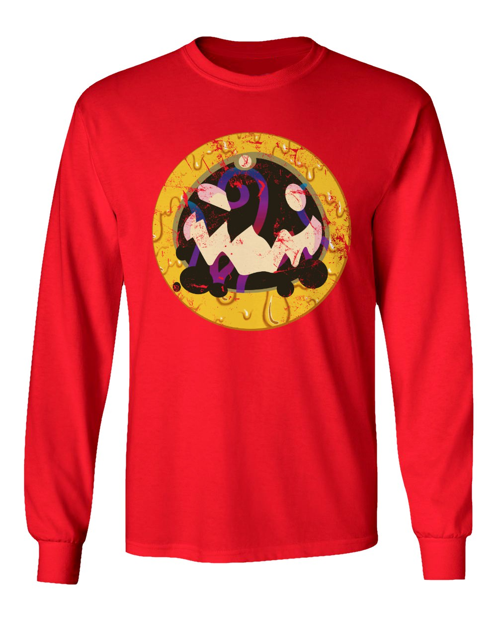 Details about Slime Rancher Shirt Slimes Tarr Video Game Men's Long Sleeve  T-Shirt