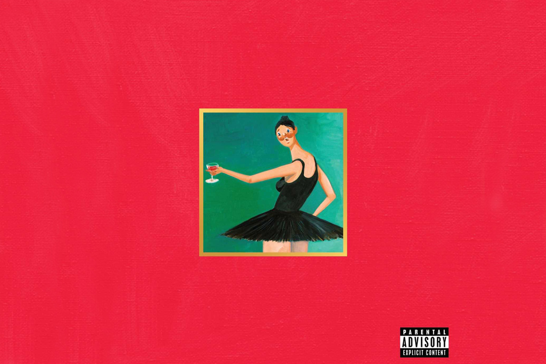 Kanye West My Beautiful Dark Twisted Fantasy Art Wall Room Poster POSTER 24x36